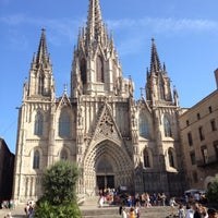 Photo taken at Cathedral of Saint Eulalia of Barcelona by Jim on 8/5/2012