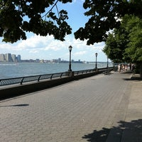 Photo taken at Hudson River Promenade by Scott P. on 7/31/2011