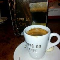Photo taken at Café do Loft by Danielle N. on 6/12/2012