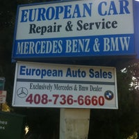 Photo taken at European Car Repairs by Crick W. on 10/27/2011