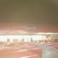 Photo taken at Kum & Go by Orlando G. on 12/12/2011