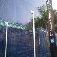 Foto tirada no(a) Estação Chácara Klabin (Metrô) por rodrigo r. em 5/23/2011