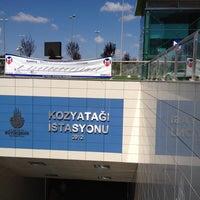 Photo taken at Kozyatağı Metro İstasyonu by Gökhan B. on 9/9/2012