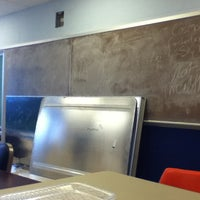 Photo taken at Ultra-secret Physics Kitchenette and Study Lounge by Tristan W. on 3/6/2012