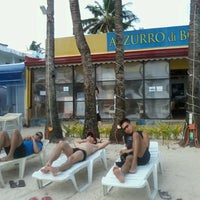 Photo taken at Azzurro di Boracay by Migs M. on 8/9/2012