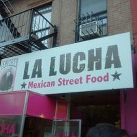 Photo taken at La Lucha - Tacos & Boutique by Norman P. on 10/22/2011