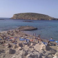 Photo taken at Cala Comte by Marta S. on 9/21/2011