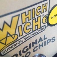 Photo taken at Which Wich? Superior Sandwiches by Christina I. on 7/27/2012