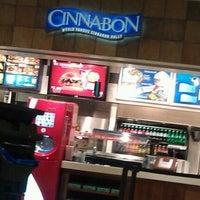 Photo taken at Cinnabon by Eddie M. on 12/18/2011
