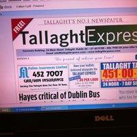 Photo taken at Tallaght Express by Dermot R. on 8/8/2011