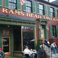Photo taken at Rams Head Tavern by Doug P. on 10/2/2011