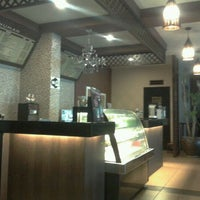 Photo taken at Lesung Batu Cafe by Syazwi U. on 1/27/2012