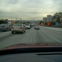 Photo taken at Interstate 405 (San Diego Freeway) by Pavel Z. on 2/6/2012