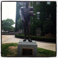 Photo taken at Ernie Davis Statue by Mike I. on 8/27/2012