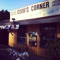 Photo taken at Cook's Corner by Patrick N. on 1/29/2012