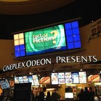 Photo taken at Cineplex Odeon South Edmonton Cinemas by Justine G. on 7/4/2012
