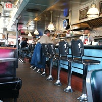 Photo taken at Deluxe Town Diner by Stephen H. on 3/23/2011