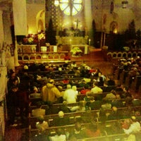 Photo taken at Visitation Church by Dave H. on 12/24/2011