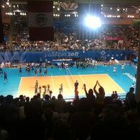 Foto tomada en Complejo Panamericano de Voleibol por Efrén G. el 10/25/2011