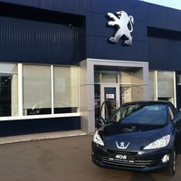 Photo taken at Peugeot by Andrew M. on 8/30/2012