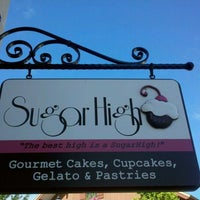 Photo taken at SugarHigh Bakery by Adam R. on 8/4/2011