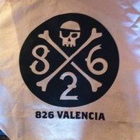 Photo taken at 826 Valencia by Joe B. on 3/11/2011