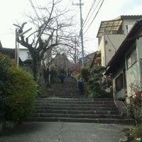 Photo taken at 宝山寺旧参道 by Trajanus on 1/1/2012