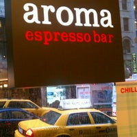 Photo taken at Aroma Espresso Bar by Richard H. on 10/19/2011