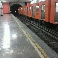 Photo taken at Metro Tacubaya by Ricardo M. on 3/15/2012