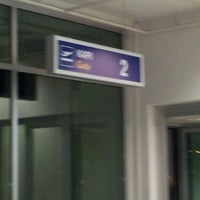 Photo taken at Gate 2 by Duygu K. on 10/30/2011