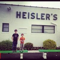 Photo taken at Heisler's Cloverleaf Dairy Bar by Victoria K. on 5/26/2012