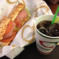 Photo taken at Quiznos Sub by Heeyoung P. on 5/29/2012