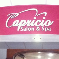 Photo taken at Capricio Salon & Spa by Munem C. on 9/16/2011