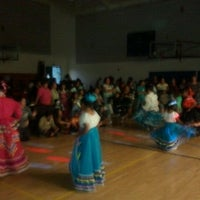 Photo taken at Mountain View Community Center by Megan D. on 10/22/2011