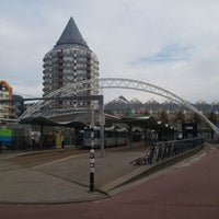 Photo taken at Station Rotterdam Blaak by King Arthur on 8/10/2011