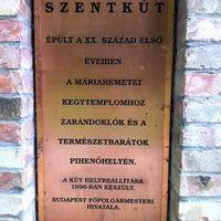 6/9/2011 tarihinde Janos O.ziyaretçi tarafından Szent kút, Máriaremete'de çekilen fotoğraf