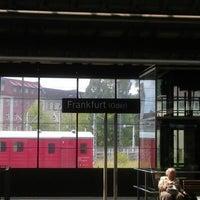 Photo taken at Bahnhof Frankfurt (Oder) by Brian R. on 6/9/2012