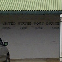 Photo taken at Koloa Post Office by Charles M. on 8/28/2012