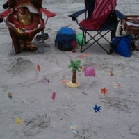 Photo taken at Flamingo Beach by Krista S. on 7/14/2011
