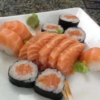 Photo taken at Manga Sushi by Luiz Miguel S. on 11/19/2011