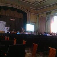Photo taken at Одесская национальная академия связи им. А.С. Попова(ОНАС) by Anna I. on 8/19/2012