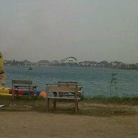 Photo taken at Danau OPI Jakabaring by Marisa S. on 9/10/2011