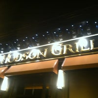 Photo taken at Hudson Grille by Nik-Nik on 5/13/2012