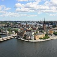 Photo taken at Stockholm by Krıstófer-Þórır D. on 9/8/2012