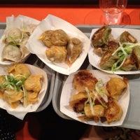 Photo taken at Dumpling Man by Adam U. on 8/7/2012
