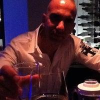 Photo taken at Blue Wine Bar by onirovins on 5/4/2012