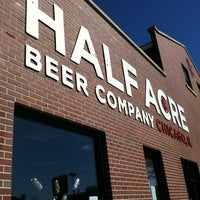 Photo taken at Half Acre Beer Company by Rudi S. on 10/3/2011