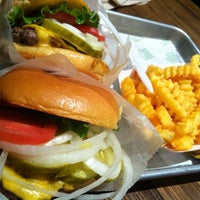 Photo taken at Shake Shack by Anna A. on 3/5/2012