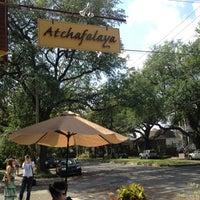 Photo taken at Atchafalaya Restaurant by Ashley M. on 4/15/2012
