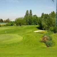 Photo taken at Golf Hostivař by Robin P. on 5/19/2012